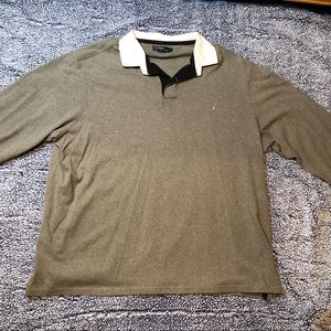 3XL Ralph Lauren rugby shirt grey